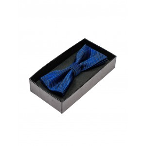 Modré elegantné motýliky pánske