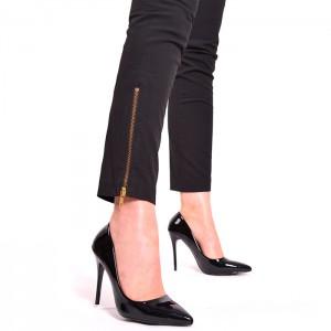 803c68a27711 Lacné dámske lodičky čiernej farby bez platformy - fashionday.eu