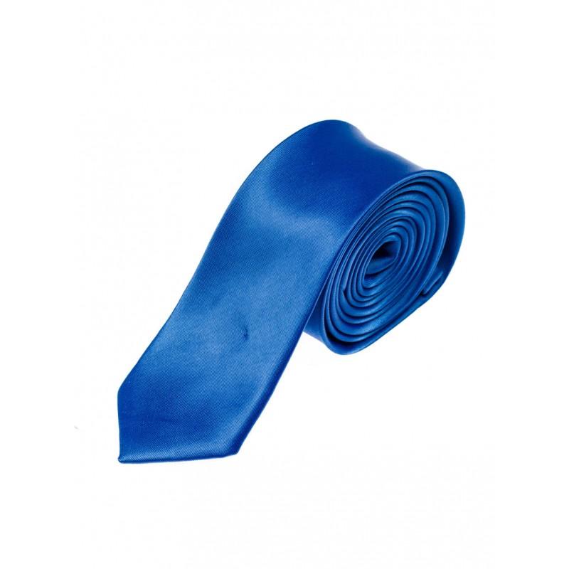 4134f5a1f346 Spoločenská pánska kravata modrej farby - fashionday.eu