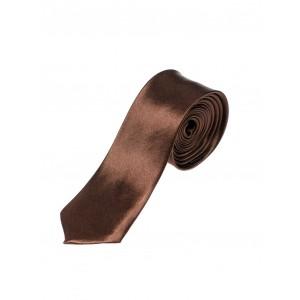 Pánske spoločenské kravaty hnedej farby