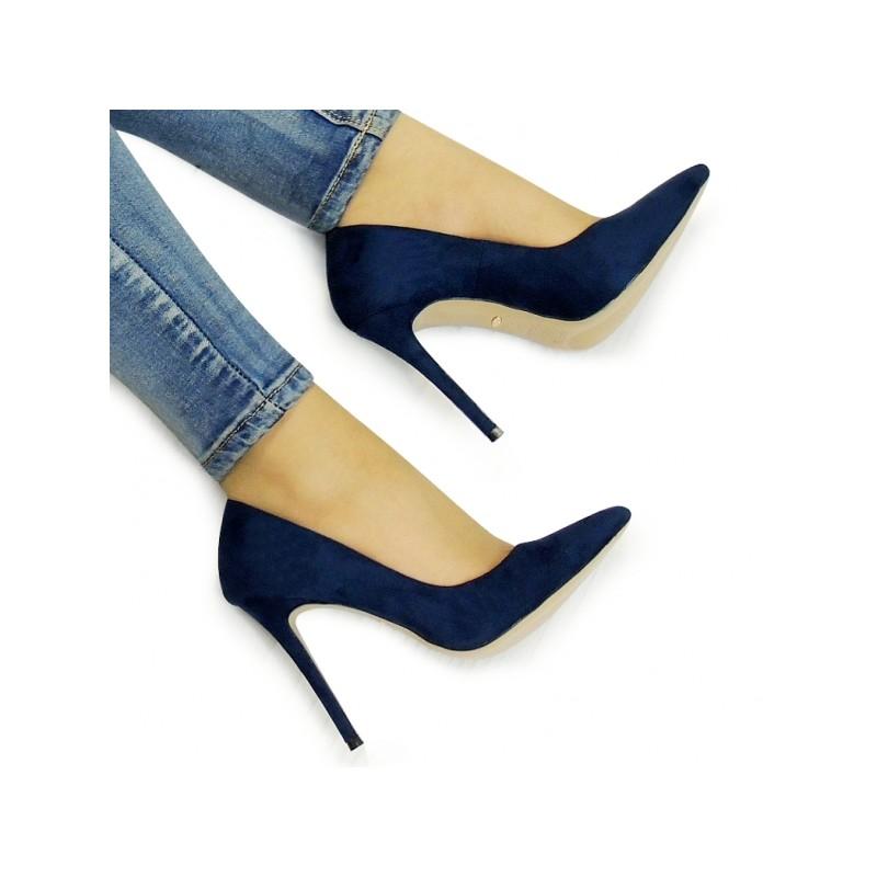 94cf990748a6 Predchádzajúci. Tmavo modré dámske lodičky semišové · Tmavo modré dámske  lodičky semišové · Tmavo modré dámske lodičky semišové ...
