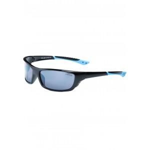 Športové okuliare slnečné modrej farby