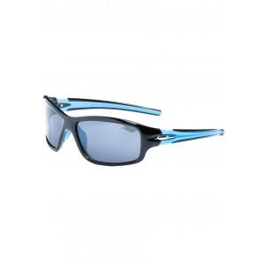 Pánske športové slnečné okuliare modrej farby