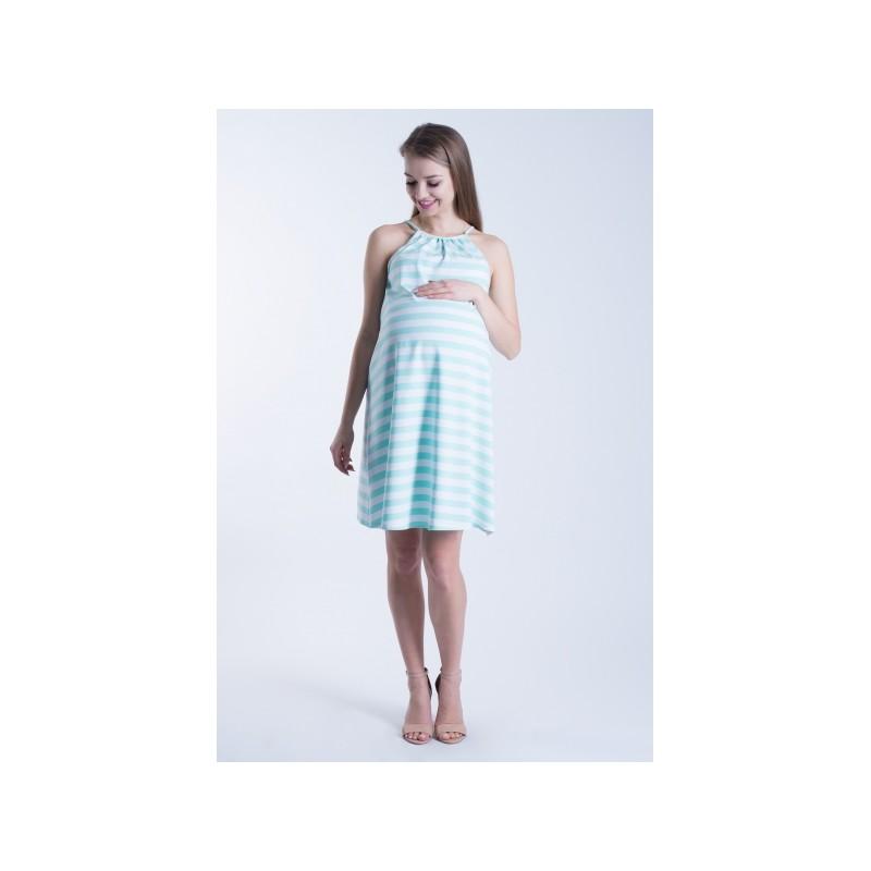 Predchádzajúci. Letné tehotenské šaty modrej farby ... 2a9a5bd329d