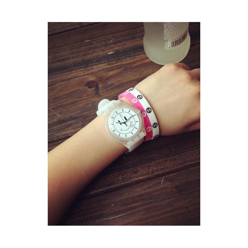 Biele silikónové hodinky so smajlíkom · Biele silikónové hodinky so  smajlíkom ... ffa5d31c9aa