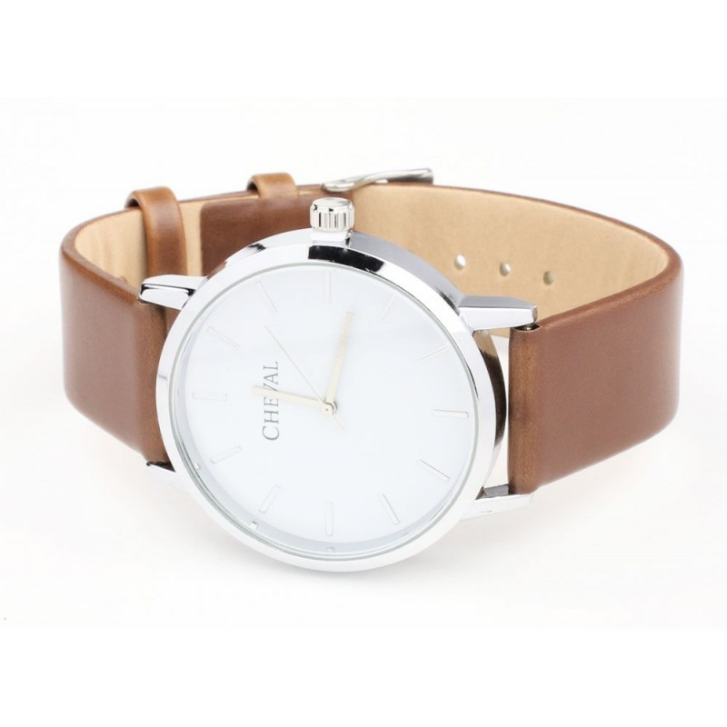 d098664f5 Módne dámske hodinky hnedej farby - fashionday.eu