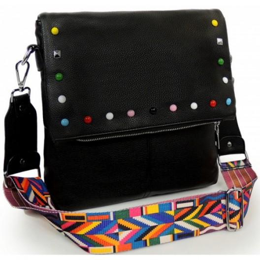 Čierne crossbody dámske kabelky