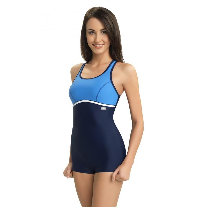 9a1fbe619 Modré športové celé plavky - fashionday.eu