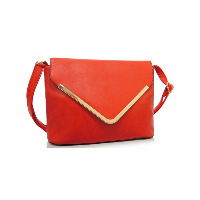 789d489b6 Červené dámske listové kabelky s ramienkom - fashionday.eu
