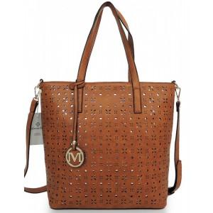 Hnedé dámske kabelky do ruky aj na rameno