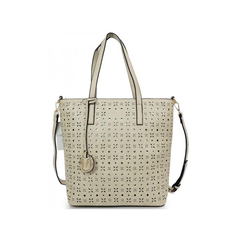 Shopper dámske kabelky v sivej farbe - fashionday.eu fbc70b359fb