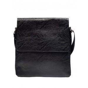 2bdb5d93dd Prešívaná pánska kabelka čiernej farby - fashionday.eu