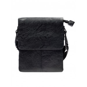 Kvalitné pánske kabelky cez plece v čiernej farbe