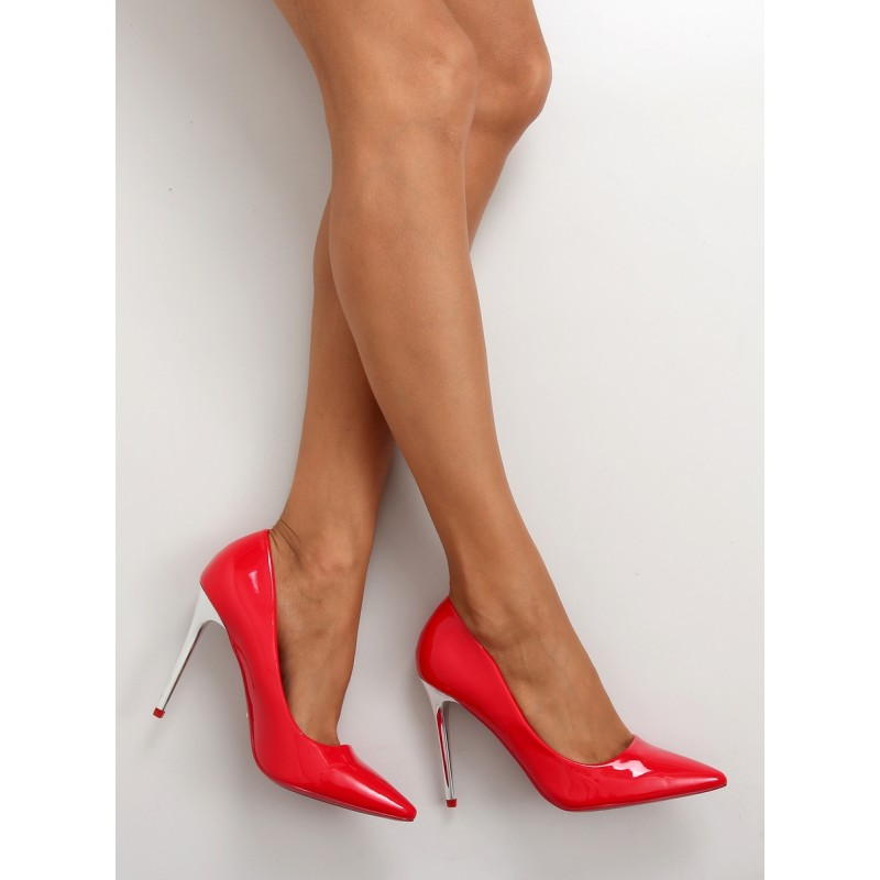 Červené luxusné lodičky pre dámy - fashionday.eu c236fd7976