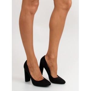 Elegantné lodičky pre dámy čiernej farby