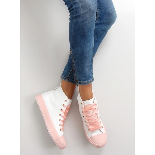 Dámska športová obuv v ružovej farbe