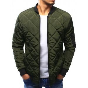 Zelená prechodná bunda pre pánov