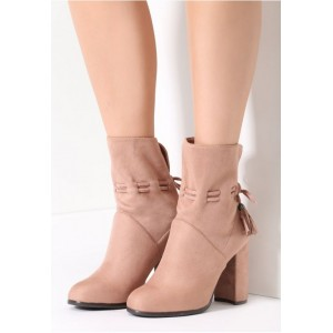 Ružové dámske topánky na vysokom podpätku