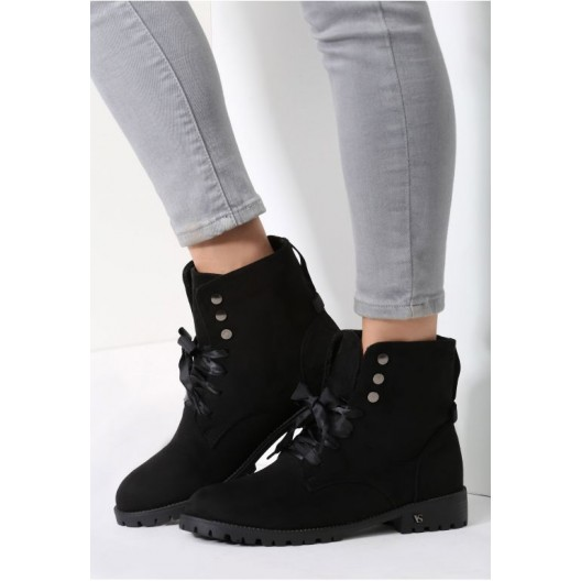 Dámské topánky čiernej farby