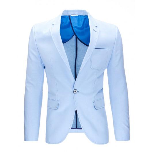 Pánske sako svetlo modrej farby