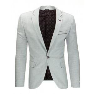 Saká pre pánov v sivej farbe