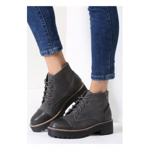 Luxusné dámska obuv v sivej farbe