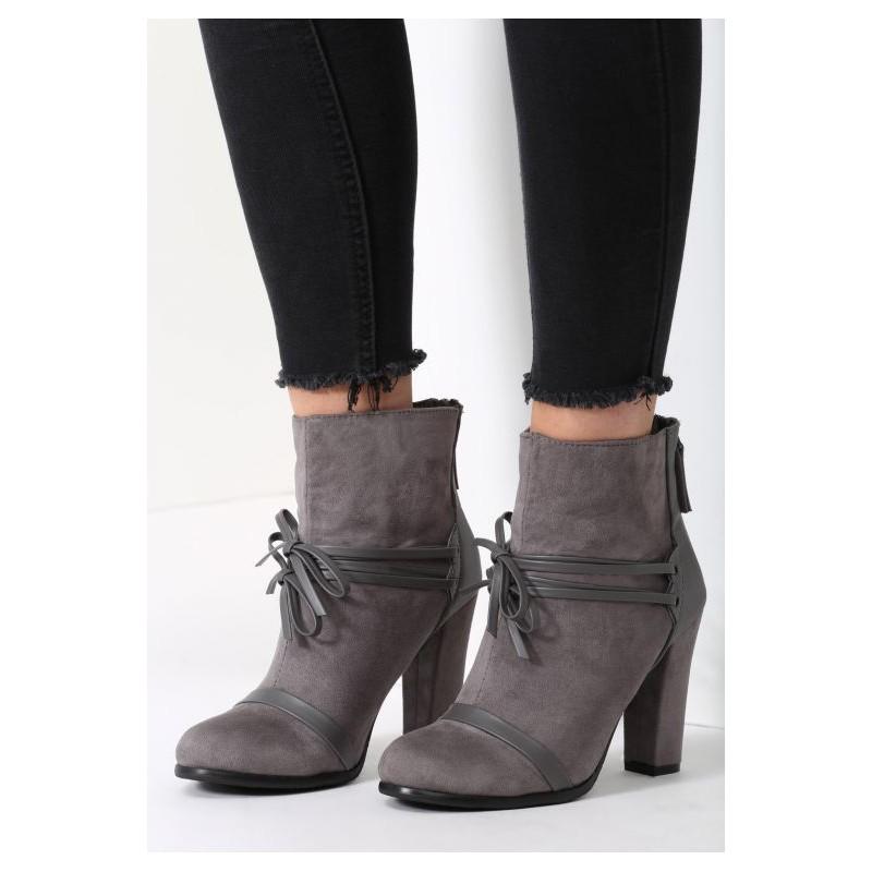 9cfe111001 Predchádzajúci. Svetlo sivé dámske členkové topánky ...