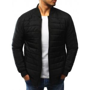 Čierna prešívaná pánska bunda