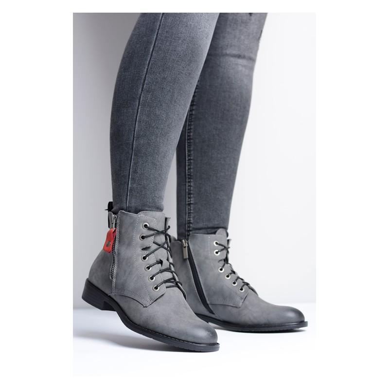 Predchádzajúci. Dámske zimné topánky sivej farby ... cc1bcced4f6