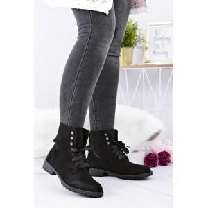 Čierna dámska obuv na zimu