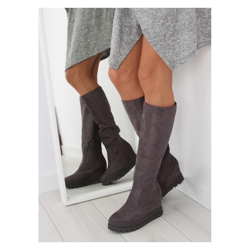 83d72c2d9619d Sivé dámske zimné čižmy - fashionday.eu