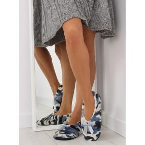 ARMY dámske papuče v modrej farbe