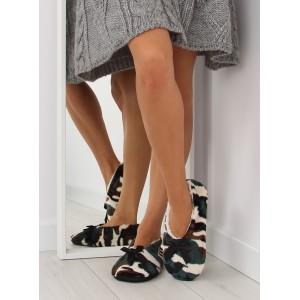 Zelené dámske papuče ARMY