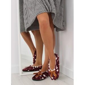 Béžové dámske papučky