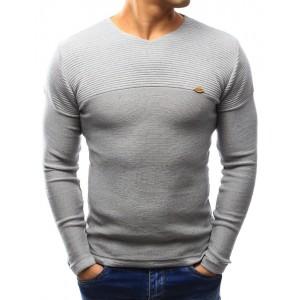 Sivé svetre pre pánov