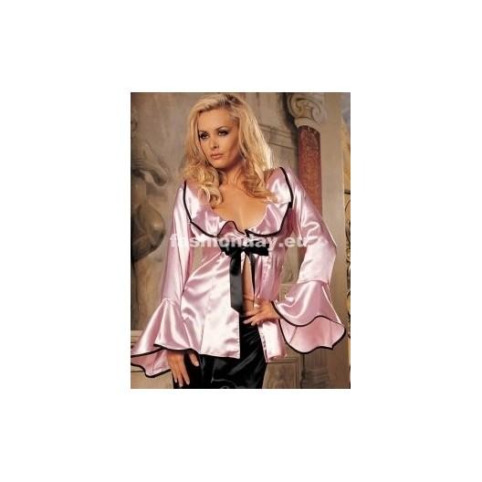 Dámske sexi pyžamo ružové D2