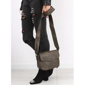 Zelené dámske crossbody kabelky