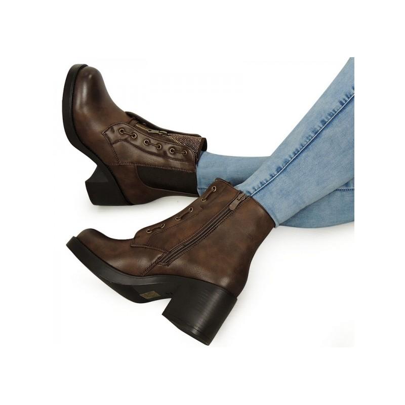 7defd77977b5 Predchádzajúci. Elegantné dámske topánky hnedej farby ...