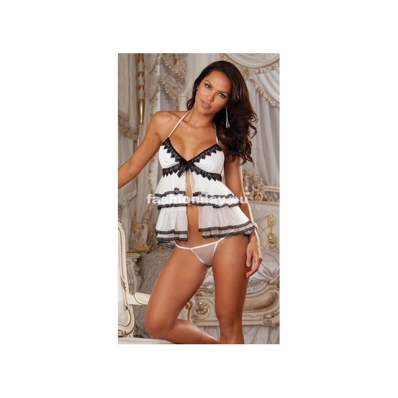 f71d8c5c8 Dámske spodné prádlo biele Sexi Women D4 - fashionday.eu