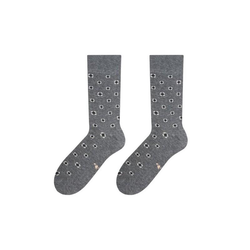 Štýlové bavlnené pánske ponožky sivej farby do mokasín - fashionday.eu bca932c9d3