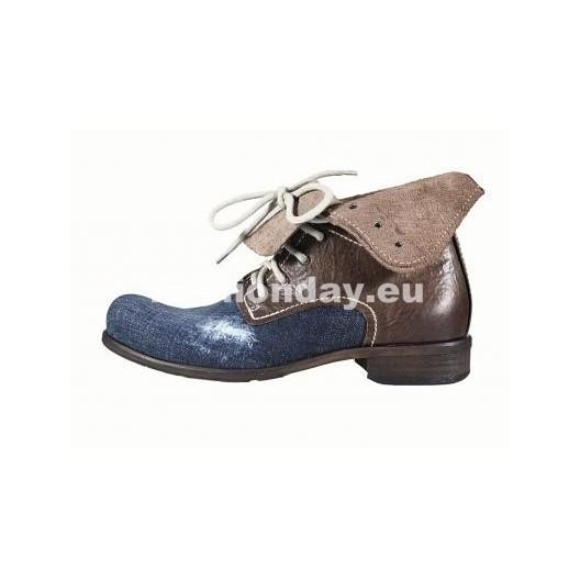 Pánske topánky - modrohnedé