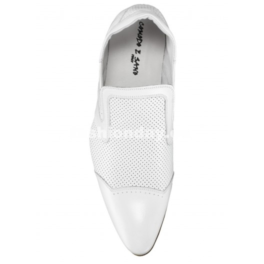 Pánske mokasíny biele ID: 536