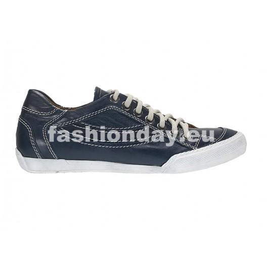 Pánske kožené športové topánky modré ID: 541