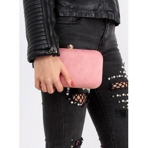Ružové dámske večerné kabelky so zlatou retiazkou vhodné na každú spoločenskú udalosť