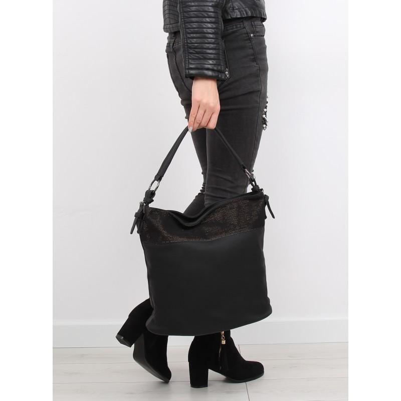 Elegantná čierna dámska kabelka na rameno na každú príležitosť ... 3f2b231b706