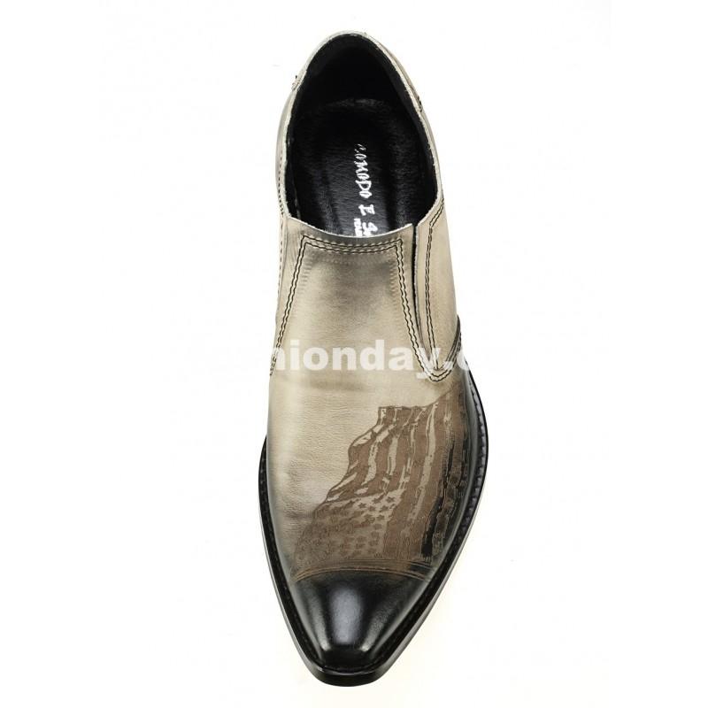 c331c54f110a Pánske kožené kovbojky - fashionday.eu