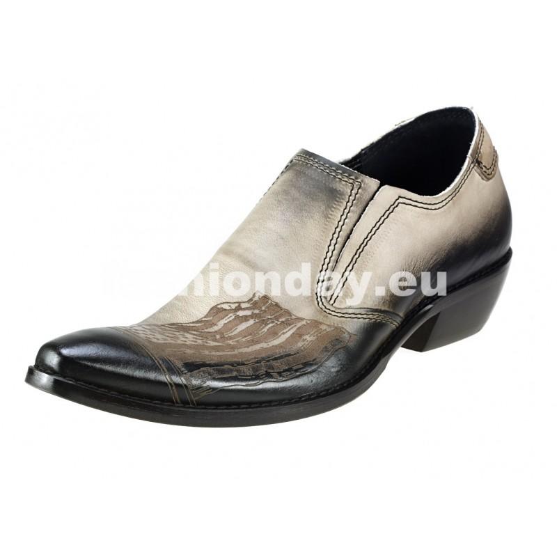 900eb3f81 Pánske kožené kovbojky - fashionday.eu