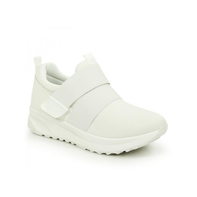 c377394978 Predchádzajúci. Biele dámske športové topánky na platforme ...