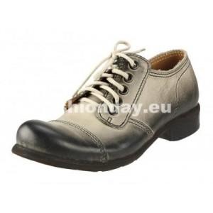 Pánske kožené topánky strieborné