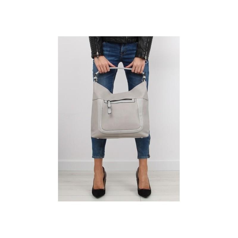 Sivé dámske kabelky do ruky na každý deň - fashionday.eu d81c8d92597